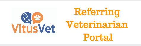 Referring Veterinarian Portal